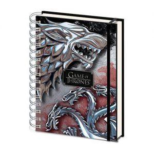 Cuaderno de anillas de Juego de Tronos