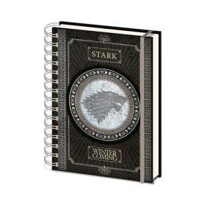 Cuaderno de anillas Stark