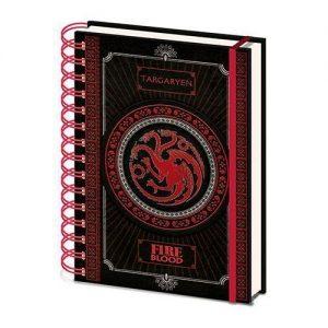 Cuaderno de anillas Targaryen