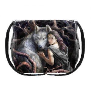 Bolso lobo bosque