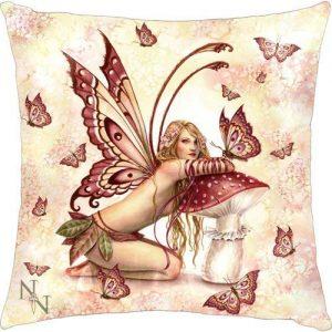 Cojín hada mariposas