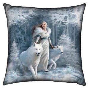 Cojín reina lobos