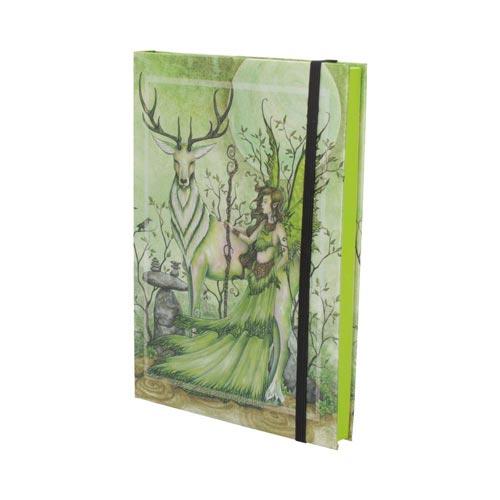 Cuaderno de hada y ciervo