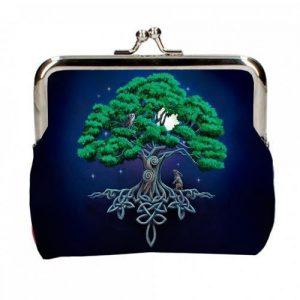 Monedero árbol vida