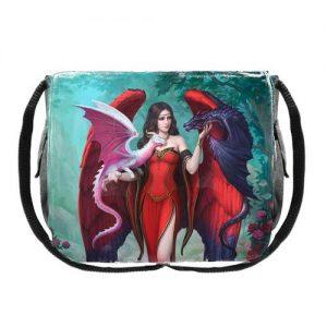 Bolso ángel dragones