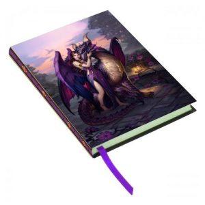 Cuaderno ángel y dragón