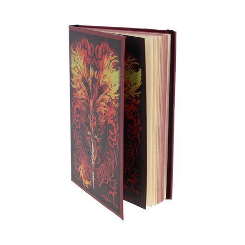Cuaderno dragón de fuego