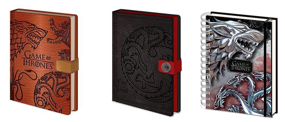 Cuadernos Juego de Tronos