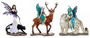 Hadas y animales
