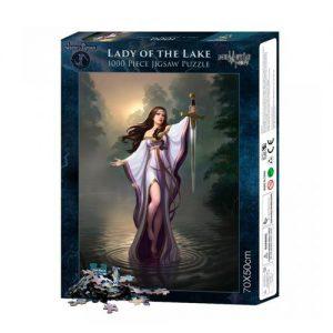 Puzle de dama del lago