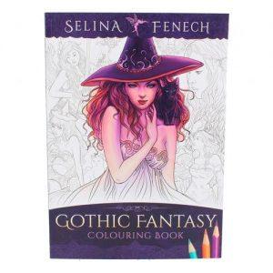 Cuaderno colorear hadas Selina Fenech