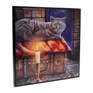 Cuadro gato místico