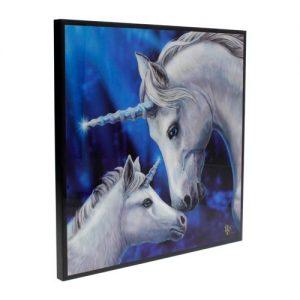Cuadro unicornios