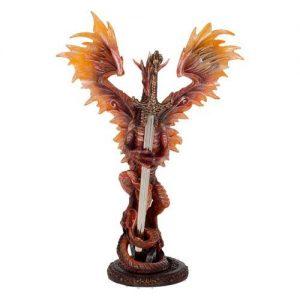 Figura dragón abrecartas