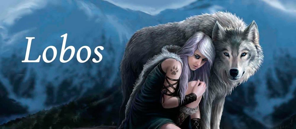 Regalos lobos fantásticos